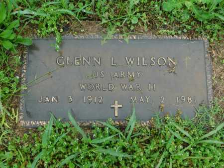WILSON (VETERAN WWII), GLENN L. - Garland County, Arkansas | GLENN L. WILSON (VETERAN WWII) - Arkansas Gravestone Photos