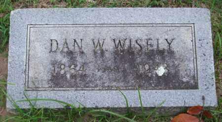 WISELY, DAN W. - Garland County, Arkansas   DAN W. WISELY - Arkansas Gravestone Photos
