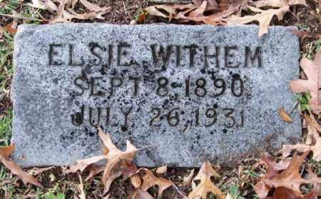 WITHEM, ELSIE - Garland County, Arkansas | ELSIE WITHEM - Arkansas Gravestone Photos