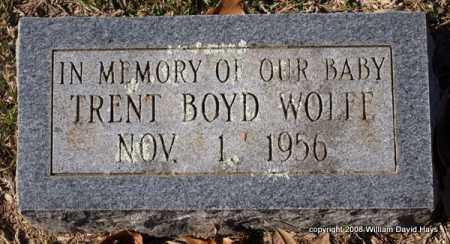 WOLFE, TRENT BOYD - Garland County, Arkansas | TRENT BOYD WOLFE - Arkansas Gravestone Photos