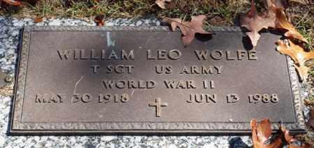 WOLFE (VETERAN WWII), WILLIAM LEO - Garland County, Arkansas   WILLIAM LEO WOLFE (VETERAN WWII) - Arkansas Gravestone Photos