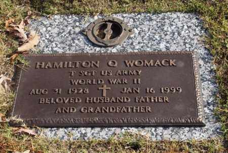 WOMACK (VETERAN WWII), HAMILTON Q - Garland County, Arkansas | HAMILTON Q WOMACK (VETERAN WWII) - Arkansas Gravestone Photos