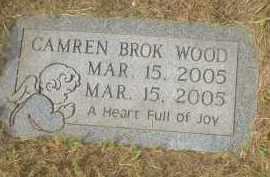 WOOD, CAMREN BROK - Garland County, Arkansas | CAMREN BROK WOOD - Arkansas Gravestone Photos