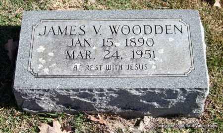 WOODDEN, JAMES V. - Garland County, Arkansas | JAMES V. WOODDEN - Arkansas Gravestone Photos