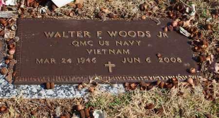 WOODS, JR (VETERAN VIET), WALTER F - Garland County, Arkansas   WALTER F WOODS, JR (VETERAN VIET) - Arkansas Gravestone Photos