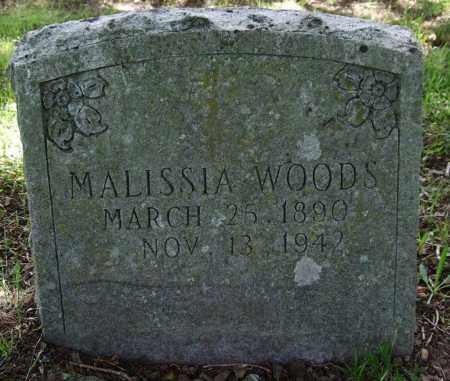 WOODS, MALISSIA - Garland County, Arkansas | MALISSIA WOODS - Arkansas Gravestone Photos