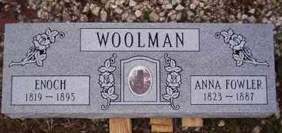 WOOLMAN, ANNA - Garland County, Arkansas | ANNA WOOLMAN - Arkansas Gravestone Photos