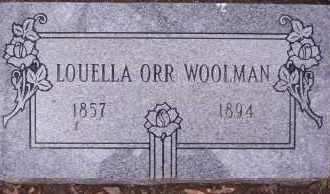 WOOLMAN, LOUELLA - Garland County, Arkansas | LOUELLA WOOLMAN - Arkansas Gravestone Photos