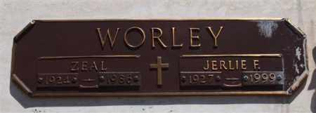 WORLEY, ZEAL - Garland County, Arkansas | ZEAL WORLEY - Arkansas Gravestone Photos