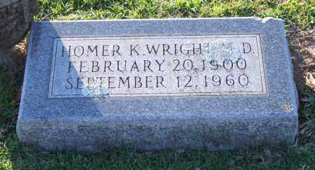 WRIGHT, HOMER K. - Garland County, Arkansas | HOMER K. WRIGHT - Arkansas Gravestone Photos