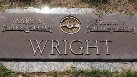 MORRIS WRIGHT, MARY - Garland County, Arkansas | MARY MORRIS WRIGHT - Arkansas Gravestone Photos