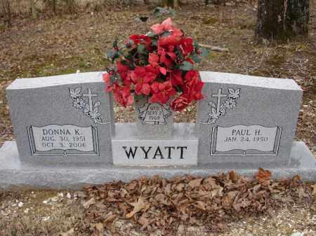 WYATT, DONNA K. - Garland County, Arkansas | DONNA K. WYATT - Arkansas Gravestone Photos