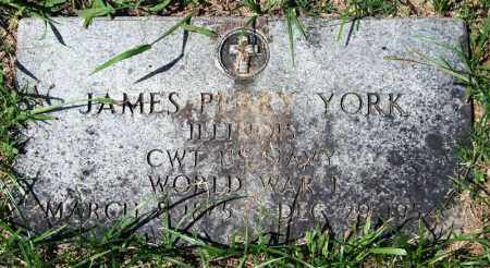 YORK (VETERAN WWI), JAMES PERRY - Garland County, Arkansas | JAMES PERRY YORK (VETERAN WWI) - Arkansas Gravestone Photos