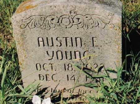 YOUNG, AUSTIN E. - Garland County, Arkansas | AUSTIN E. YOUNG - Arkansas Gravestone Photos