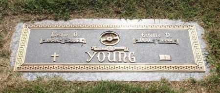 YOUNG, ESTELLE V. - Garland County, Arkansas | ESTELLE V. YOUNG - Arkansas Gravestone Photos
