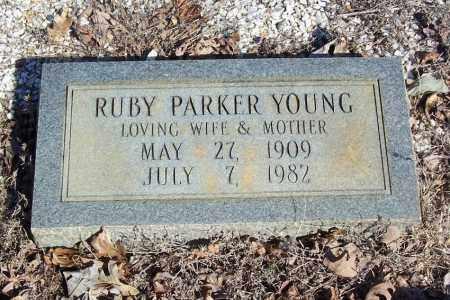 YOUNG, RUBY PARKER - Garland County, Arkansas | RUBY PARKER YOUNG - Arkansas Gravestone Photos