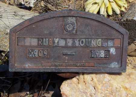 YOUNG, RUBY - Garland County, Arkansas   RUBY YOUNG - Arkansas Gravestone Photos