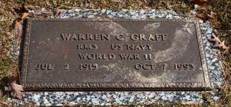 GRAFF, WARREN C - Garland County, Arkansas   WARREN C GRAFF - Arkansas Gravestone Photos