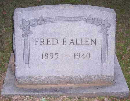 ALLEN, FRED F - Grant County, Arkansas | FRED F ALLEN - Arkansas Gravestone Photos