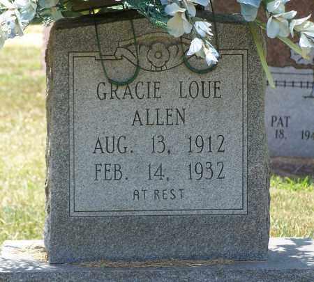 ALLEN, GRACIE - Grant County, Arkansas   GRACIE ALLEN - Arkansas Gravestone Photos