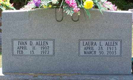 ALLEN, LAURA - Grant County, Arkansas | LAURA ALLEN - Arkansas Gravestone Photos