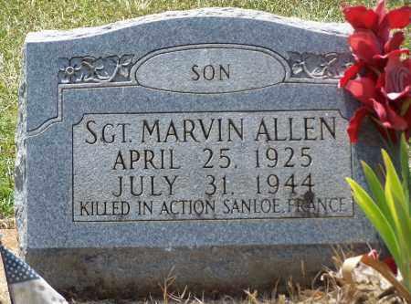 ALLEN (VETERAN WWII ,KIA), MARVIN - Grant County, Arkansas   MARVIN ALLEN (VETERAN WWII ,KIA) - Arkansas Gravestone Photos