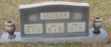 ALLISON, ERMA - Grant County, Arkansas | ERMA ALLISON - Arkansas Gravestone Photos