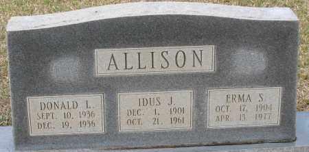 ALLISON, IDUS J - Grant County, Arkansas | IDUS J ALLISON - Arkansas Gravestone Photos