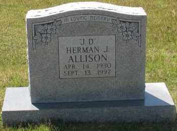 ALLISON, HERMAN - Grant County, Arkansas | HERMAN ALLISON - Arkansas Gravestone Photos