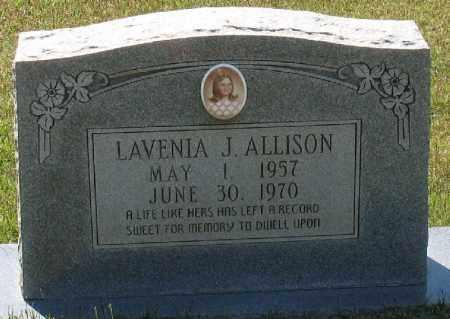 ALLISON, LAVENIA J - Grant County, Arkansas | LAVENIA J ALLISON - Arkansas Gravestone Photos