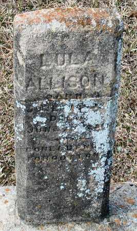 ALLISON, LULA - Grant County, Arkansas | LULA ALLISON - Arkansas Gravestone Photos