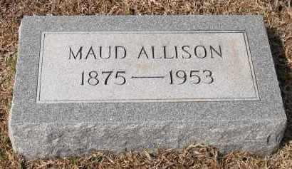 ALLISON, MAUD - Grant County, Arkansas   MAUD ALLISON - Arkansas Gravestone Photos