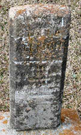 ALLISON, STELLA - Grant County, Arkansas | STELLA ALLISON - Arkansas Gravestone Photos