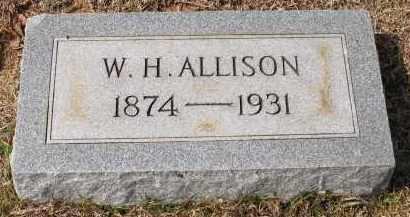 ALLISON, WILLIAM H - Grant County, Arkansas | WILLIAM H ALLISON - Arkansas Gravestone Photos
