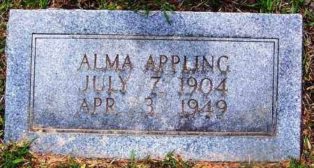 APPLING, ALMA - Grant County, Arkansas   ALMA APPLING - Arkansas Gravestone Photos