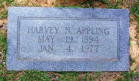 APPLING, HARVEY N - Grant County, Arkansas   HARVEY N APPLING - Arkansas Gravestone Photos