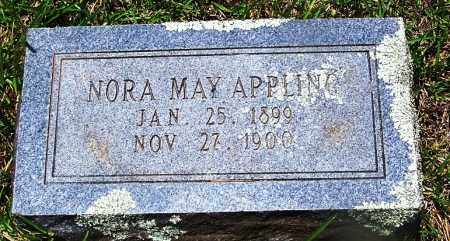 APPLING, NORA MAY - Grant County, Arkansas | NORA MAY APPLING - Arkansas Gravestone Photos