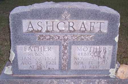 ASHCRAFT, REBECCA J - Grant County, Arkansas | REBECCA J ASHCRAFT - Arkansas Gravestone Photos