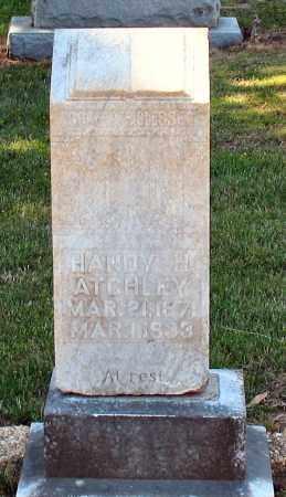 ATCHLEY, HANDY H - Grant County, Arkansas   HANDY H ATCHLEY - Arkansas Gravestone Photos