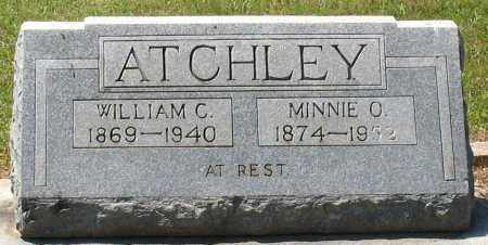 ATCHLEY, WILLIAM C - Grant County, Arkansas | WILLIAM C ATCHLEY - Arkansas Gravestone Photos