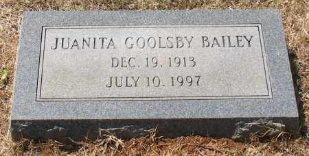 BAILEY, JUANITA - Grant County, Arkansas | JUANITA BAILEY - Arkansas Gravestone Photos
