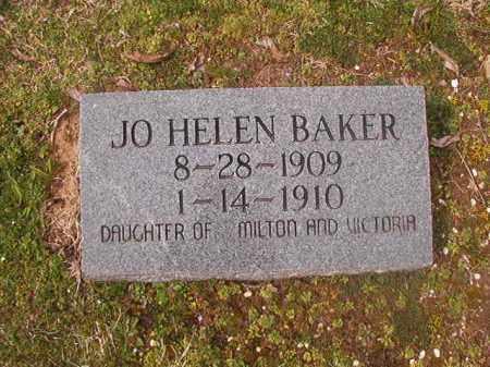 BAKER, JO HELEN - Grant County, Arkansas   JO HELEN BAKER - Arkansas Gravestone Photos