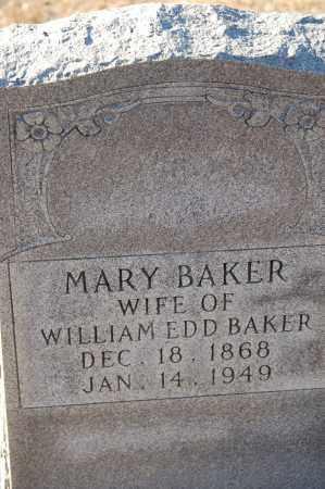 BAKER, MARY - Grant County, Arkansas | MARY BAKER - Arkansas Gravestone Photos