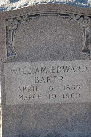 BAKER, WILLIAM EDWARD - Grant County, Arkansas   WILLIAM EDWARD BAKER - Arkansas Gravestone Photos