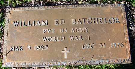 BATCHELOR (VETERAN WWI), WILLIAM ED - Grant County, Arkansas | WILLIAM ED BATCHELOR (VETERAN WWI) - Arkansas Gravestone Photos
