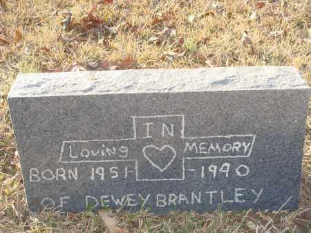 BRANTLEY, DEWEY - Grant County, Arkansas   DEWEY BRANTLEY - Arkansas Gravestone Photos