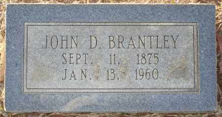 BRANTLEY, JOHN D - Grant County, Arkansas | JOHN D BRANTLEY - Arkansas Gravestone Photos
