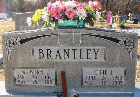 BRANTLEY, MILBURN E - Grant County, Arkansas | MILBURN E BRANTLEY - Arkansas Gravestone Photos