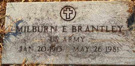 BRANTLEY (VETERAN), MILBURN E - Grant County, Arkansas | MILBURN E BRANTLEY (VETERAN) - Arkansas Gravestone Photos