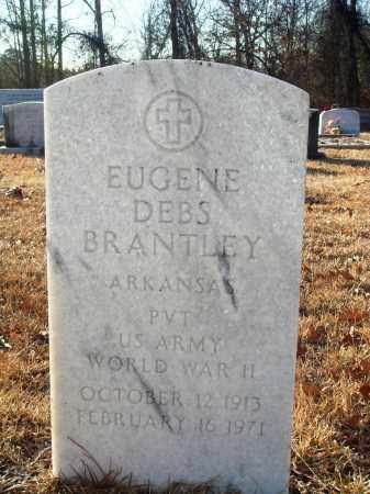 BRANTLEY (VETERAN WWII), EUGENE DEBS - Grant County, Arkansas   EUGENE DEBS BRANTLEY (VETERAN WWII) - Arkansas Gravestone Photos